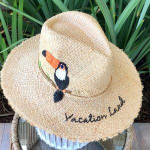"Cappelli Disney ""Vacation Land"" Tiki Room Hat"
